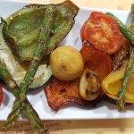 parrillada de verduras a la plancha - Grilled vegetables - Assortiment légumes grillés