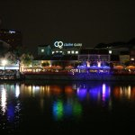 Clarke Quay River at Night