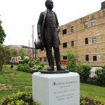Roosevelt Inaugural House - Roosevelt Statue
