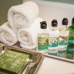 Guest bath amenities