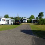 Pitch 57 (rear) and 56 (foreground with caravan). V Large!