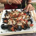 10€ Ensalada Marisco Fantastico!!