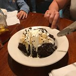 brownie sundae - enough for 4 adults. mouth-watering delicious. home-made
