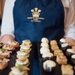 A selection of Canapes