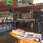 Joe's reception and bar area
