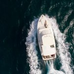 Carla Charters Aruba deep sea fishing drone view