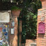 The entrance to Villa Britannia!