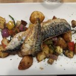 Special of the day- pan fried Mackrell