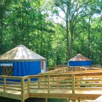 Enjoy Yurt Glamping in our Yurt village!