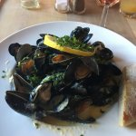 The amazing Mussels at the Parsonage Inn in St Florence