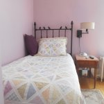 Our Lilac Room is just perfect for two friends who want to share a room, but not a bed.