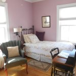 The Lilac Room has two twin SleepNumber XL beds.