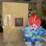Wine at Roy's with the GREAT Kahuna Behr (note the headress).!
