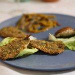 Acciughe impanate in crosta di frutta secca - Fried anchovies