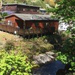 Riverside lodge at Sunny Lyn