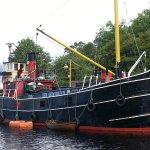Steam Boat at Crinin