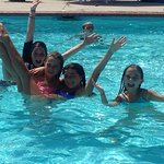 Kids Loving Time in the Pool