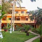 Hamacas, Jardines, Hotel Casamar en Puerto Escondido