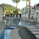 Veiw of pool area