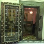 Old Vault doors from the previous bank.