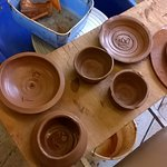 6 of the finest hand-thrown bowls (and side plates), but how many will survive the firing!!?