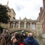 Bridge of Sighs As Seen During Punting on River Cam