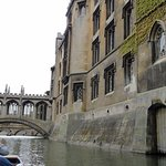 Cambridge University As Seen During Punting Along the River Cam