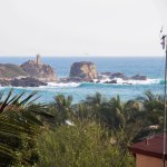 View from our Cocos Suites at Casamar in Puerto Escondido