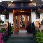 Front entrance you are always welcome to come in and enjoy an elegant dining experience