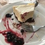 Home-made cheesecake