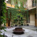 Tranquil central courtyard of this wonderful palace