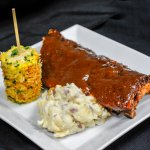 Special available on select dates only:  BBQ pork ribs