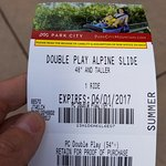 Buy Double Play to ride both Coaster and Slide