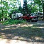 Campsite #28 view.