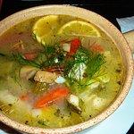 "Fischtopf (""Extragroße Portion), 7,90 €"