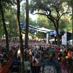 Amphitheater during Wanee Festival