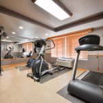 Our Fitness Center is a great way to sweat the stress away!
