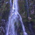 Milford Sound waterfalls