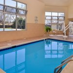 Swim indoors in our heated pool!