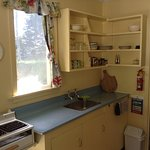 Motel unit kitchen