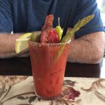 Bloody Mary - a meal in itself!
