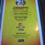 Foto de Geno's Pizza and Burgers