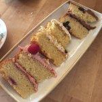 Three cake platter £8.50