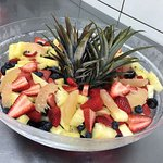 Fruit Salad.  Taste the RAIN!
