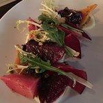 marinated baby beet salad
