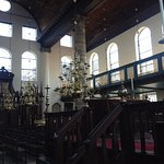 The wooden Synagogue made from wood imported