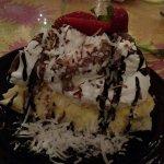 Almond Joy Pie enough for 2 people
