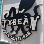 The sign outside caught our attention. We knew we could get some great coffee at this shop!