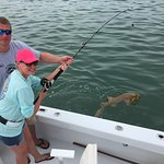We all had a blast! We caught 44 dolphin in total and took an evening Tarpon & Nurse Shark trip.