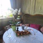 Très belle et bonne collation comprise avec l'espace détente, jacuzzi, sauna, espace privatif